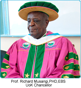 Chancellor, University of Kabianga